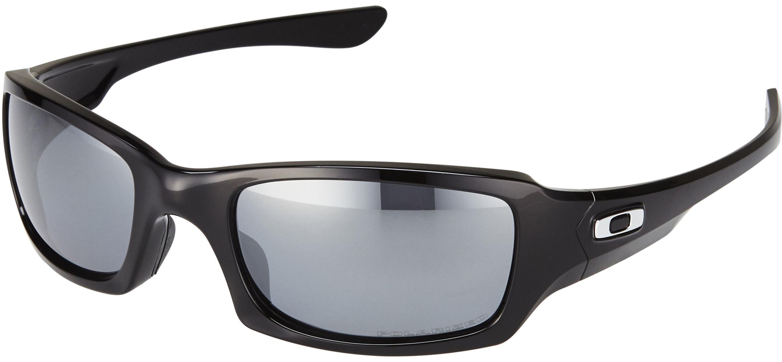 Oakley Fives Squared polished black black iridium polarized  0615e3a8c5